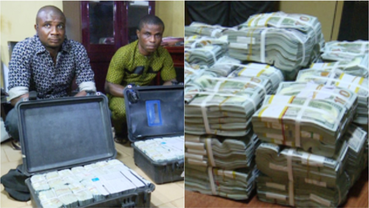 EFCC Money Enugu Airport OkayNG - EFCC Secures Interim Forfeiture of $2.8m Intercepted at Enugu Airport