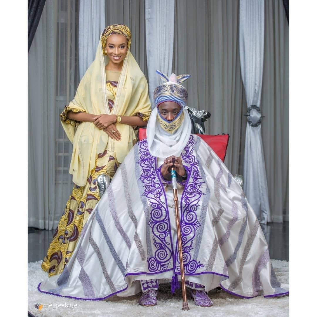 Photo of Emir of Kano's Son, Aminu Sanusi Lamido Shares His Pre-Wedding Photos