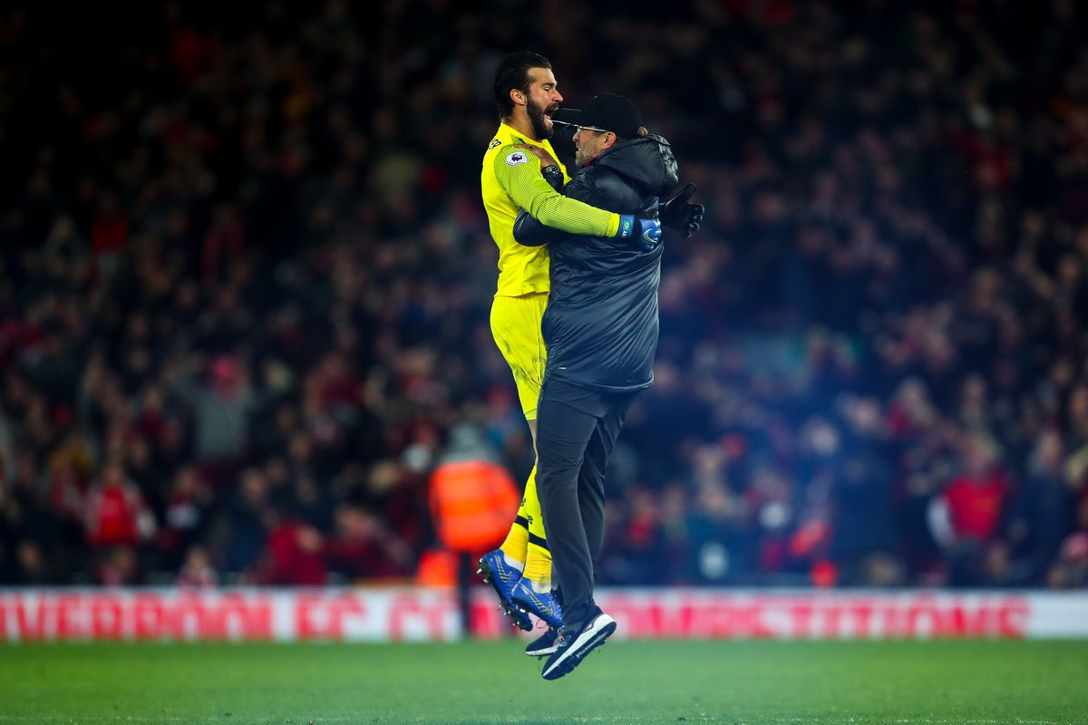 Klopp Pitch Invasion OkayNG - Klopp Accepts FA Charge For Pitch Invasion Celebration