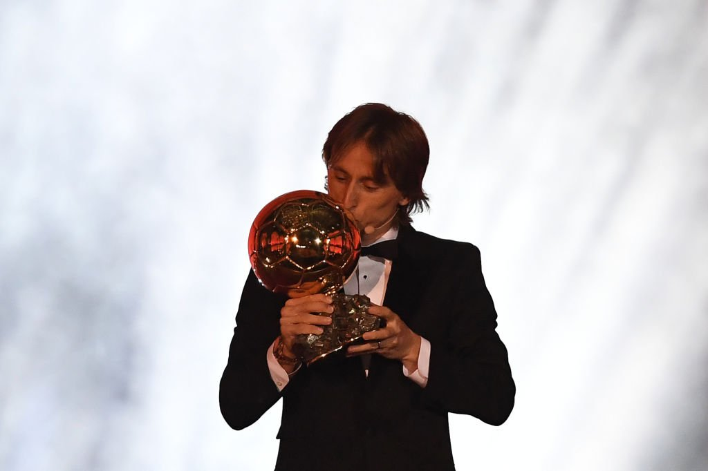 Photo of Luka Modric Named Winner of 2018 Ballon d'Or