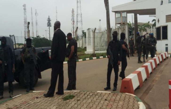 Police Take Over National Assembly Complex, Prevent Staff, Others from Access