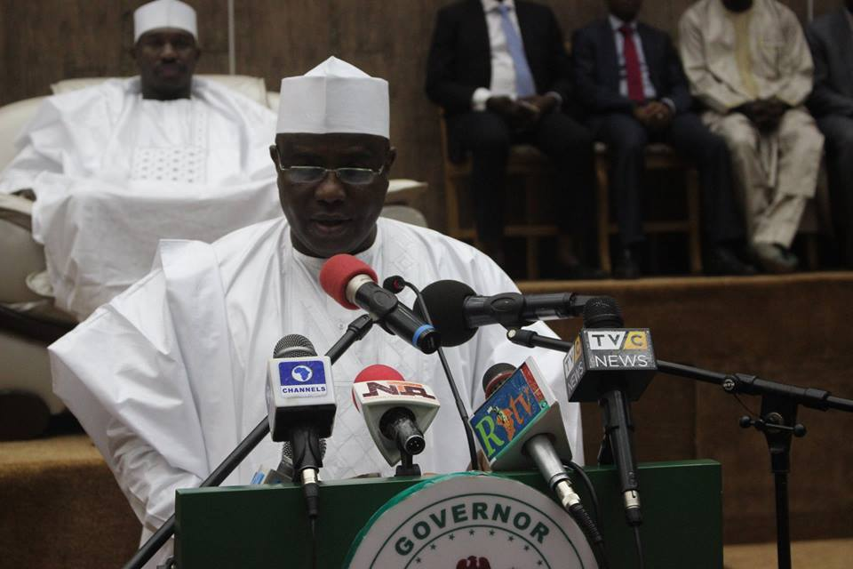 Photo of Tambuwal Presents N169bn As Budget for 2019 Fiscal Year