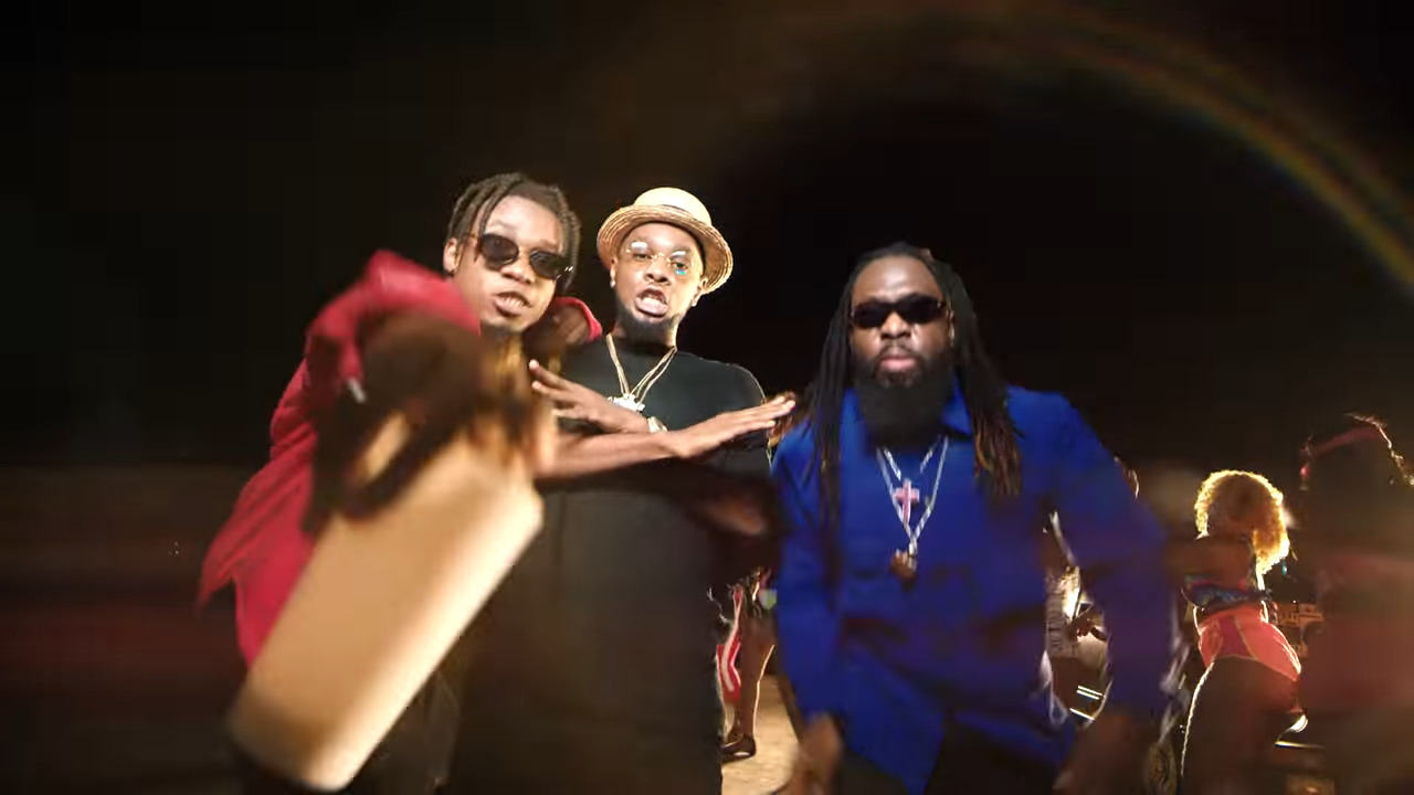 "Timaya King Peryy Patoranking Kom Kom Video - Timaya, King Perryy & Patoranking Team Up for ""Kom Kom"" Music Video [Watch]"