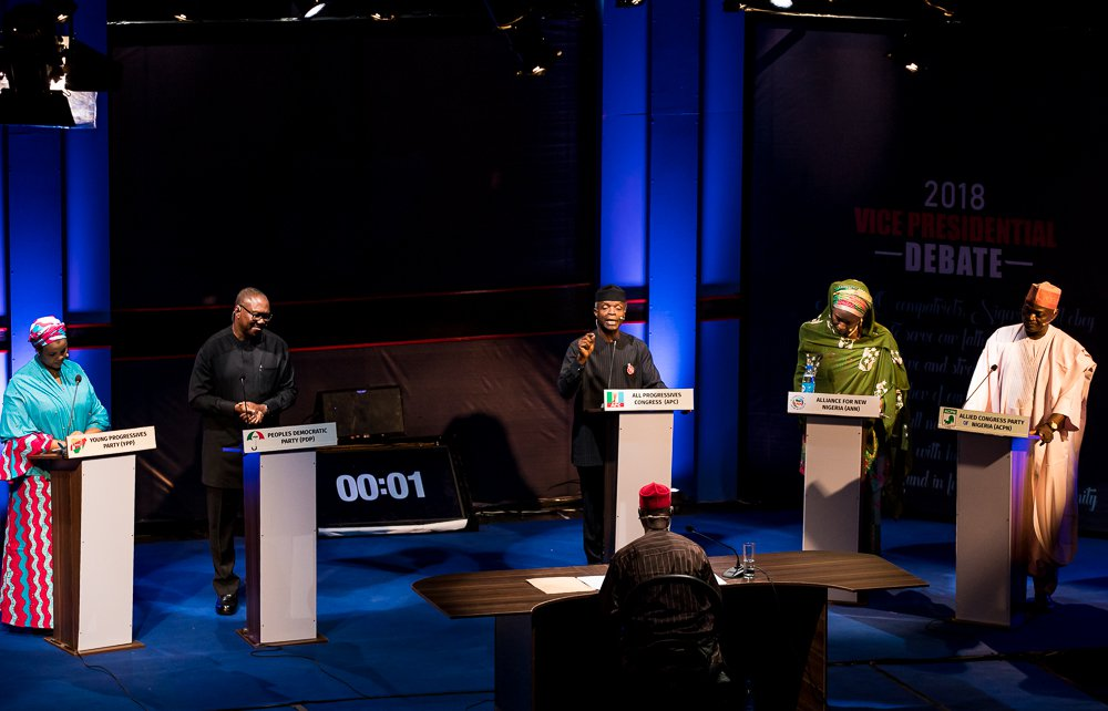 Photo of #2019Debate: You Can't Shut Down Your Shop to Chase Criminals – Peter Obi On Corruption