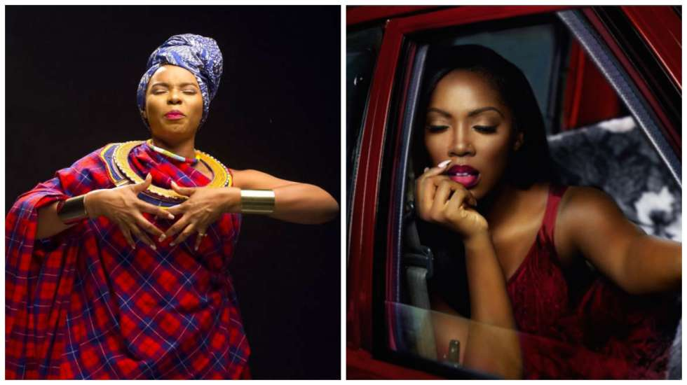 Yemi Alade Tiwa Savage OkayNG 1 - Over Yansh Oh! Tiwa Savage Warns Yemi Alade On Social Media