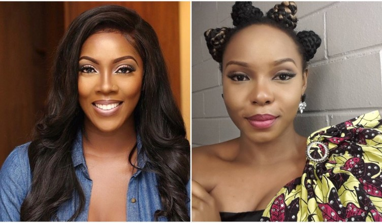 Yemi tiwa OkayNG - Tiwa Savage Clarifies Her War with Yemi Alade On Twitter