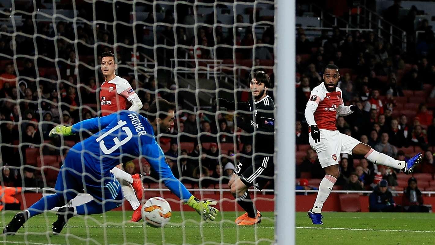 alexandrelacazette cropped 11qtzdtndjbbq1f9yuj1gmuohf - Arsenal vs Qarabag 1-0: UEFA Europa League Highlights [Watch Video]