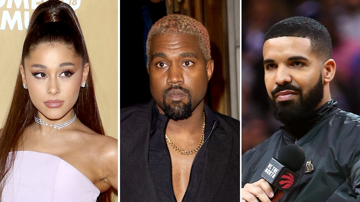 Ariana Grande / Kanye West / Drake