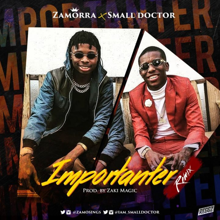 """artworks 000454147929 lzg2xm original 720x720 - Watch Zamora's New Video for """"Importanter [Remix]"""" Featuring Small Doctor"""