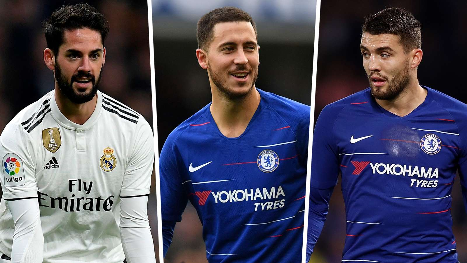 isco eden hazard mateo kovacic - Real Madrid Offer Chelsea Isco and Mateo Kovacic for Eden Hazard