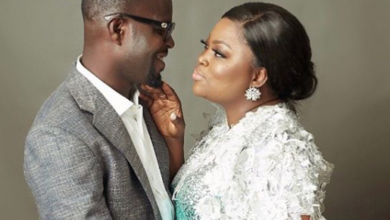 jjc skillz funke akindele OkayNG e1566525533145 390x220 - Funke Akindele and husband, JJC Skillz celebrate 3rd Wedding Anniversary