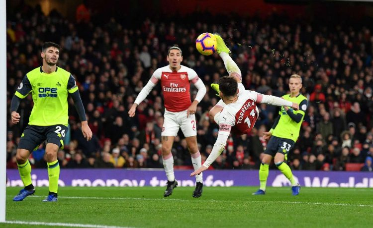 Arsenal vs Huddersfield Town 1-0: Premier League Highlights [Watch Video] - OkayNG News