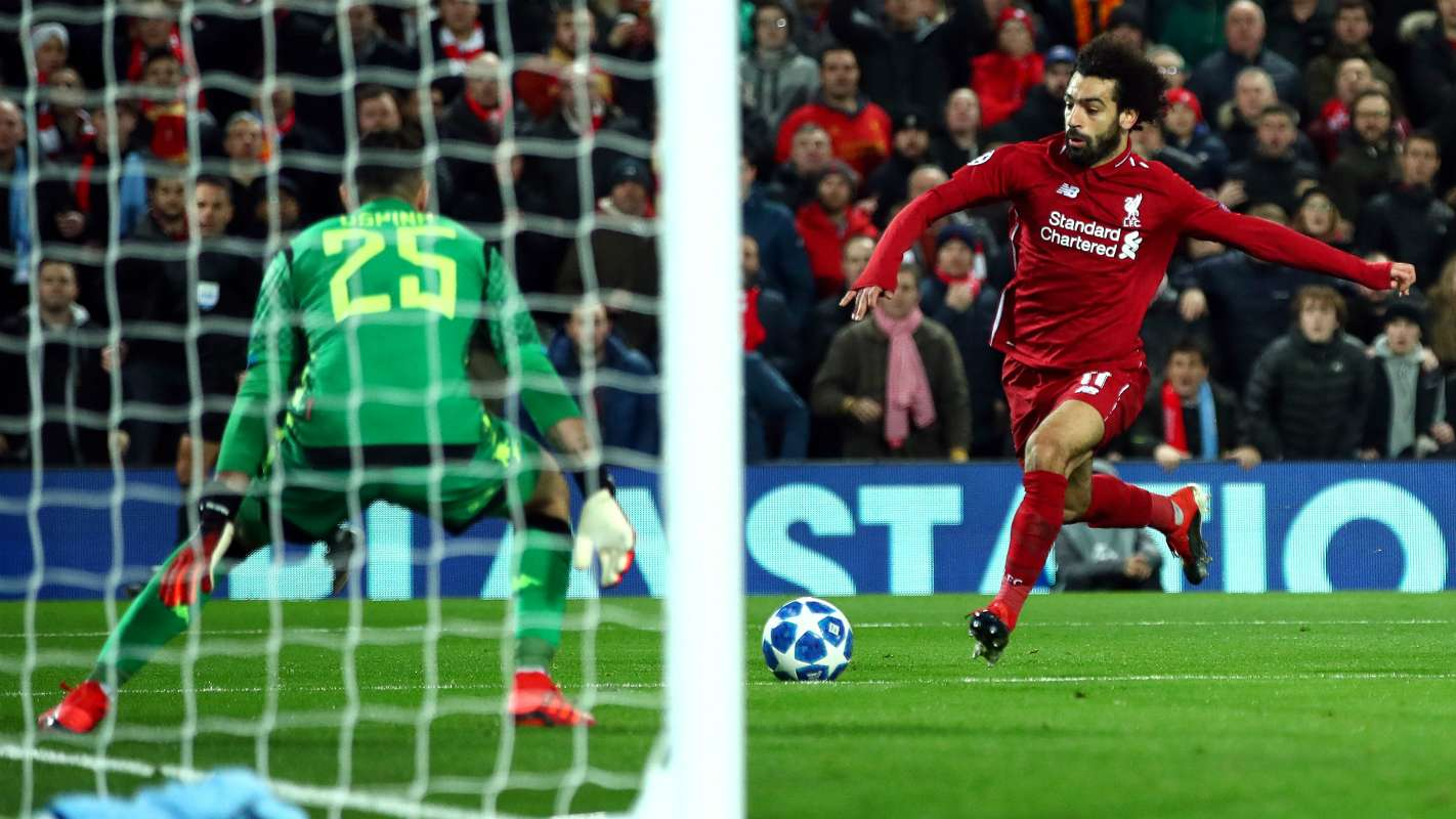 mohamed salah w0cyyz2noa1y1perk1ebo5sfh - Liverpool vs Napoli 1-0: UEFA Champions League Highlights [Watch Video]