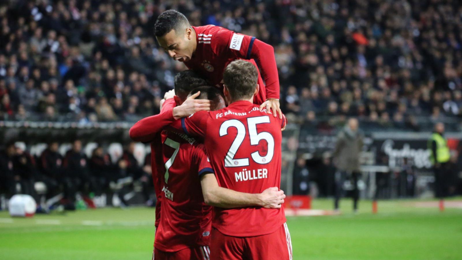 ribery cropped uxvghkk0z2th112i2o7htsim6 - Eintracht Frankfurt vs Bayern Munich 0-3: Bundesliga Highlights [Video]