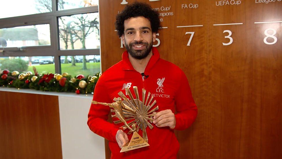 Photo of Liverpool's Salah Wins 2018 BBC African Footballer Of The Year Award