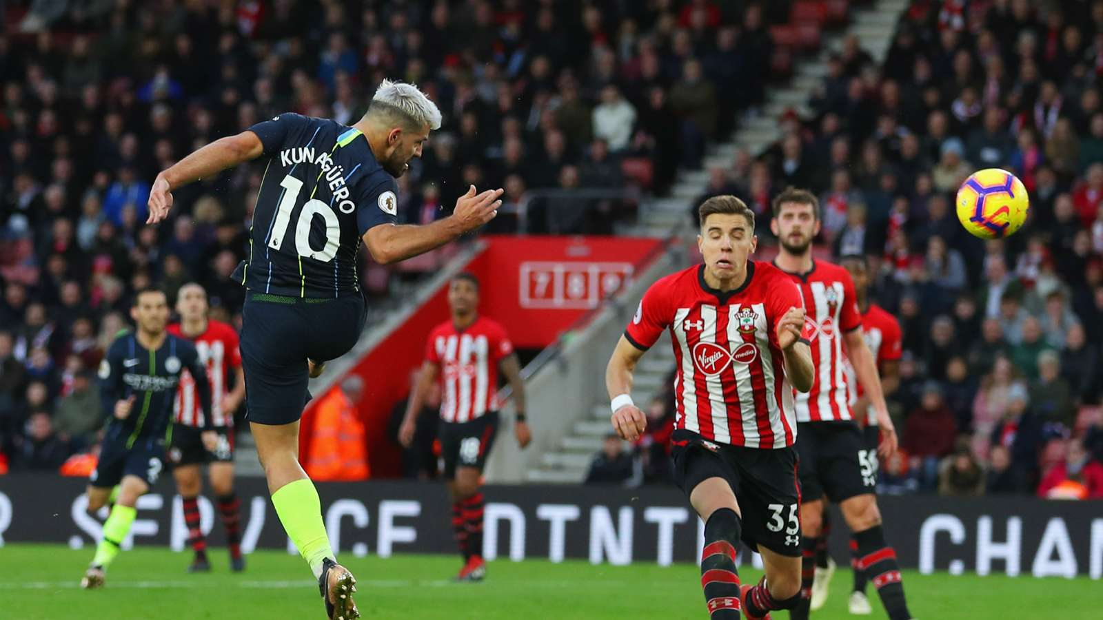 sergioaguero cropped 11nje2xo0qcl313a0172dahrn3 - Watch: Southampton vs Manchester City 1-3: Premier League Highlights [Video]