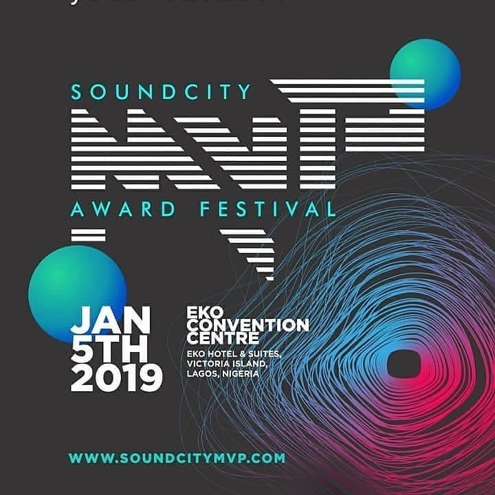 Soundcity MVP awards 2019