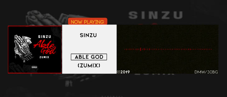 "Sinzu Releases ""Able God (Zumix)"""
