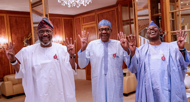 Photo of Amosun, APM Governorship Candidate Speak After Meeting with Buhari