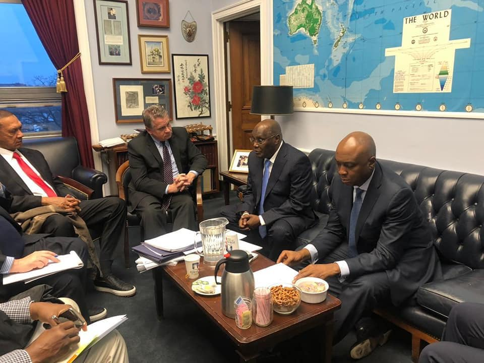 Atiku US Congressmen OkayNG 1 - Atiku Meets with US Congressmen in Washington DC [Photos]