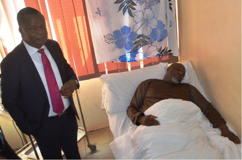 Police Move Dino Melaye from DSS Medical Facility to SARS Office