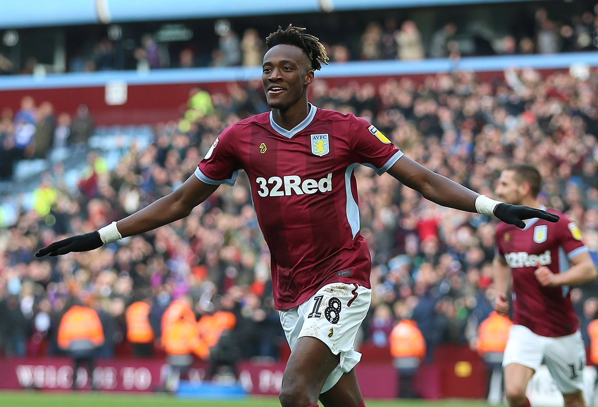 DwAbda5XQAA vth - Wolves table an offer of £18m for Chelsea striker, Tammy Abraham