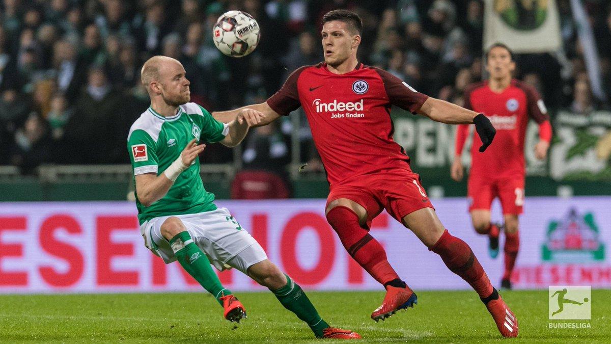 Dx3F FEVYAAj2zZ - Werder Bremen vs Eintracht Frankfurt 2-2: Bundesliga Match Report & Highlights