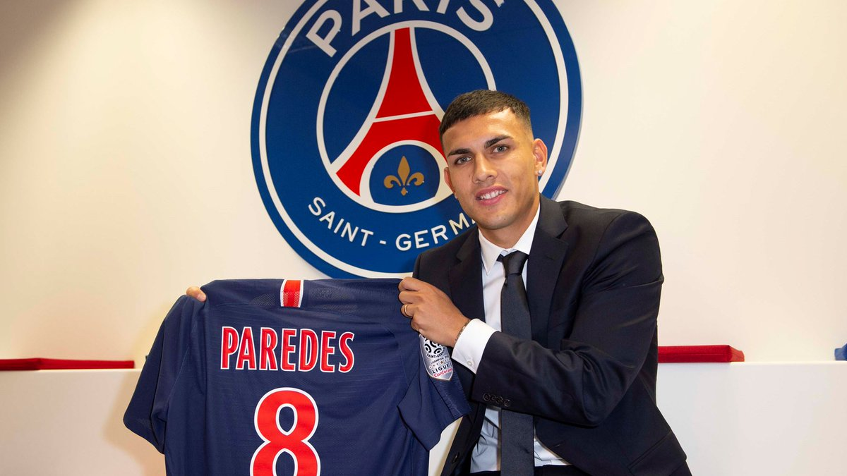 DyET7wRWkAIUSed - Zenit St Petersburg midfielder, Leandro Paredes joins PSG for €40m