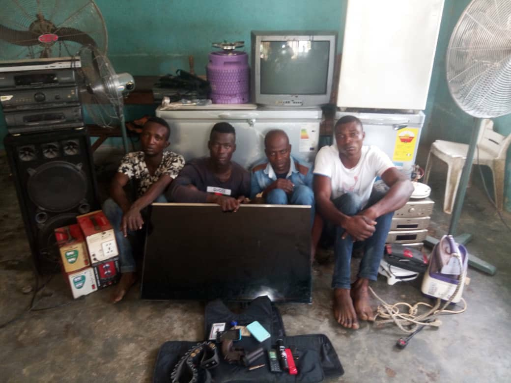 Four Suspects Specialised In Robbing Churches Arrested In Ogun