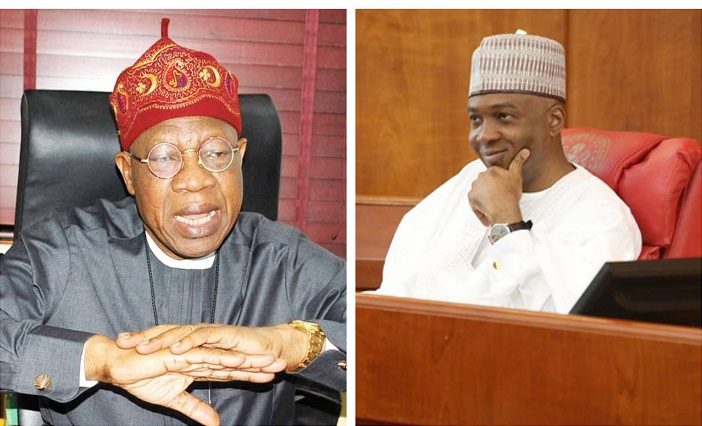Lai Saraki OkayNG - Lai Mohammed Releases Audio Evidence that Saraki Lied He Donated N10m to Offa Robbery Victims