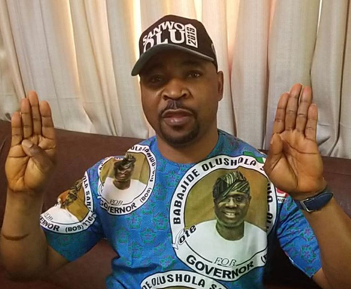 Photo of MC Oluomo Stabbed In the Neck at Lagos APC Rally