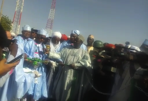 Photo of Gov. Masari Commissions 1.9bn Road Project in Batagarawa