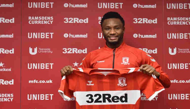 Mikel 750x430 - Mikel Obi joins Middlesbrough on short-term deal