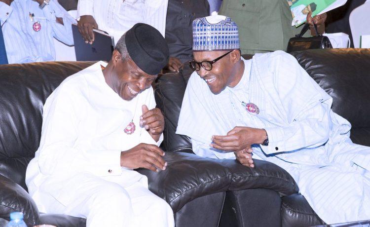 Buhari felicitates with Osinbajo as he turns 62