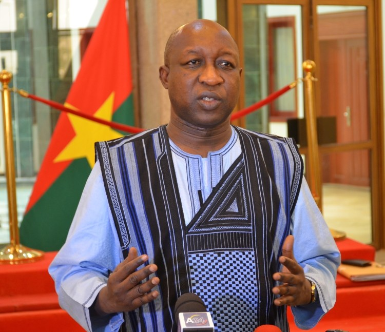 Paul Kaba Thieba OkayNG - Burkina Faso's Prime Minister, Government Resigns
