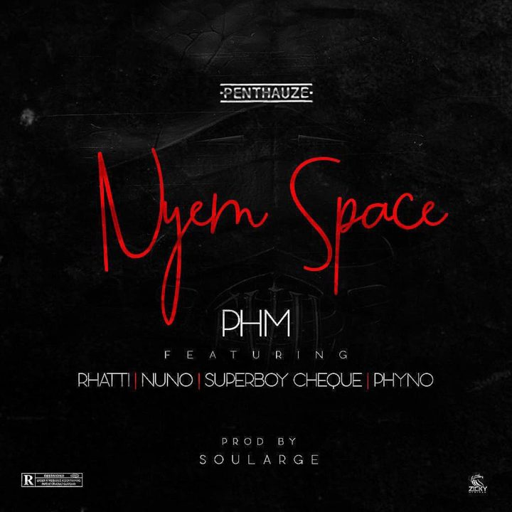 "Photo of PHM presents new song ""Nyem Space"" feat. Phyno, Rhatti, Nuno & Cheque [Audio]"