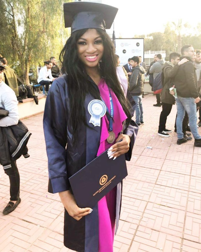 Princess OkayNG 1 - Omotola's first daughter graduates from University in Cyprus