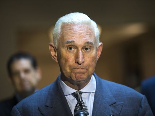 Roger Stone, an associate of President Donald Trump © USAToday