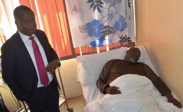 UPDATE! Police Move Dino Melaye to DSS Medical Facility