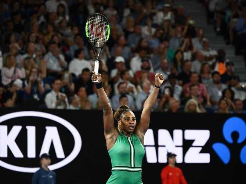 Serena Williams OkayNG - Serena Williams defeats Simona Halep to reach Australian Open quarter final