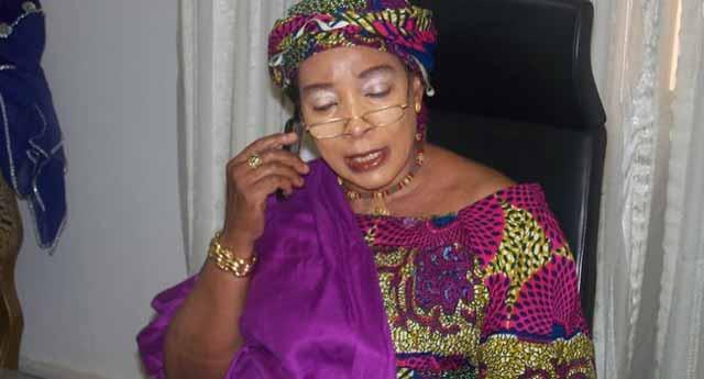 Titi Abubakar OkayNG - Atiku's wife attacked by Thugs in Ibadan