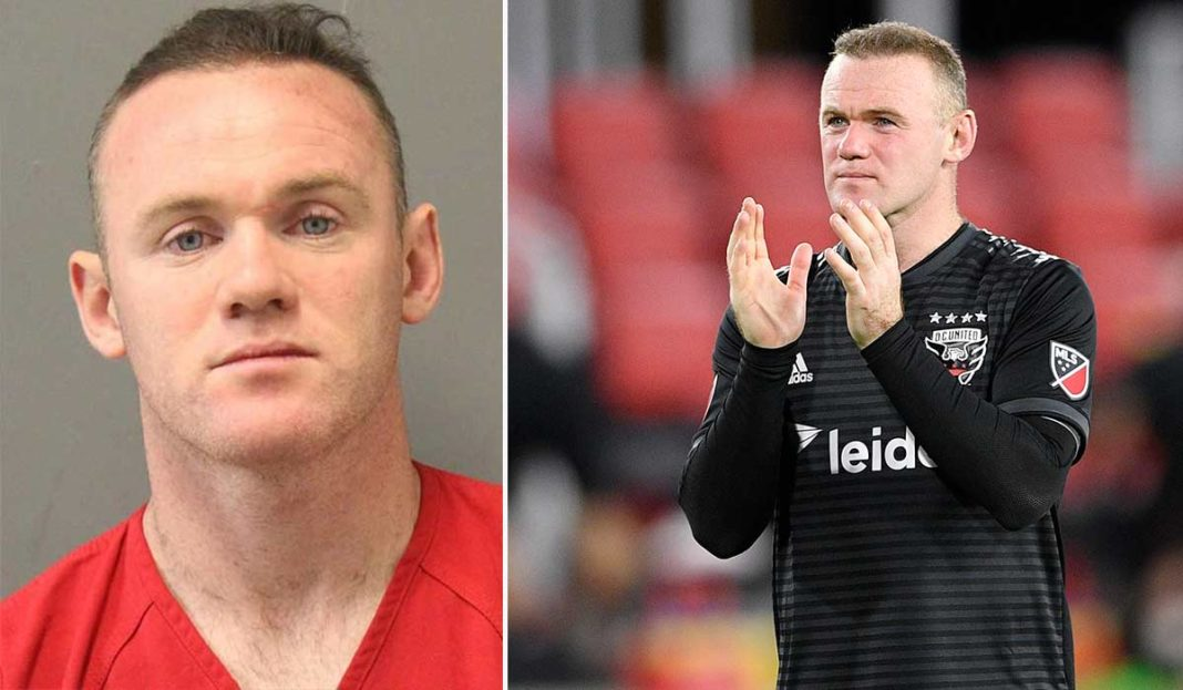Photo of Wayne Rooney Arrested in US for Public Intoxication