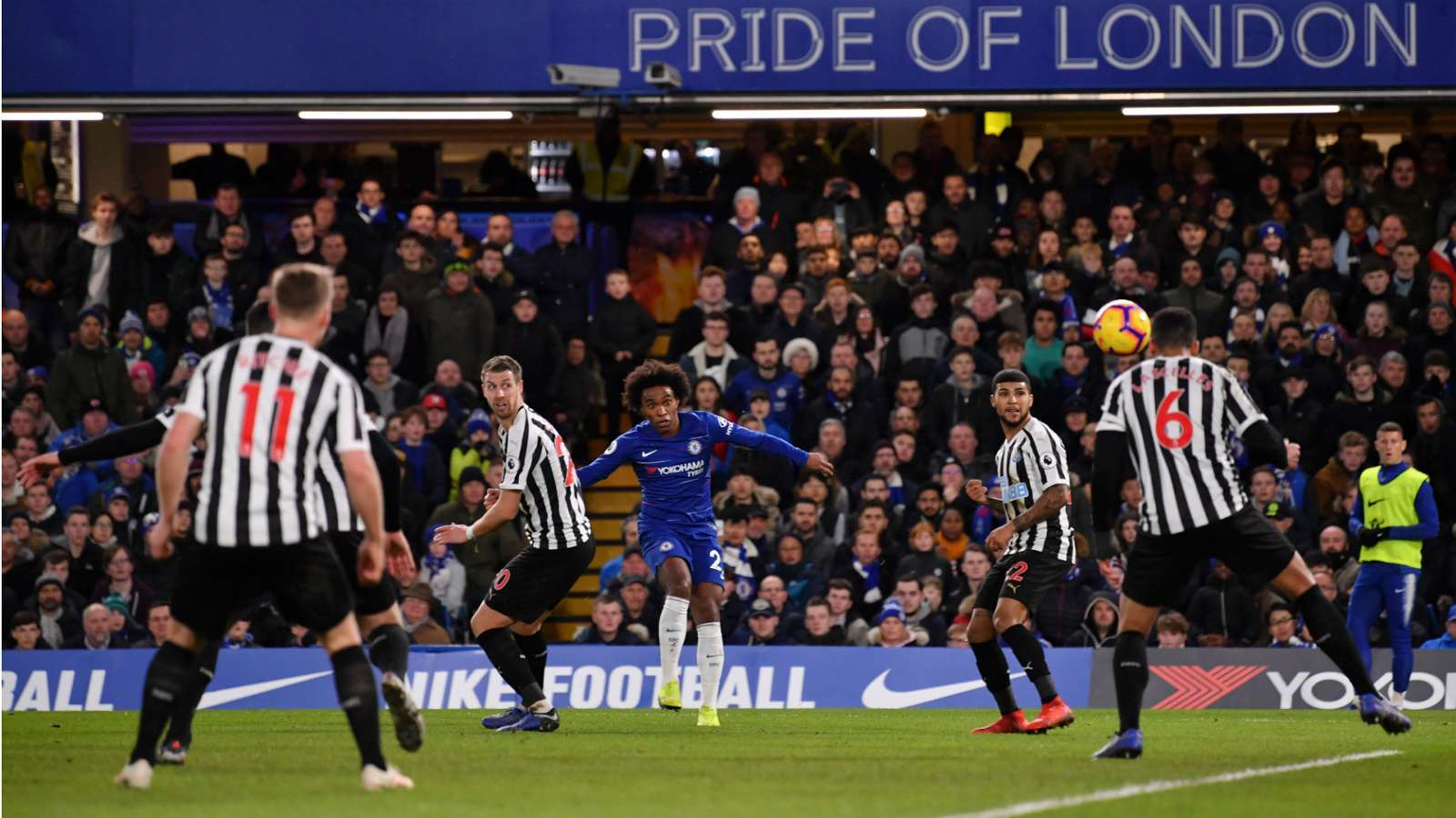 willian cropped mgcvmn8u83dv173vo9y4702ds - Watch: Chelsea vs Newcastle United 2-1: Premier League Highlights [Video]