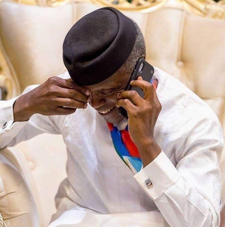 Photo of Buhari calls Osinbajo over helicopter crash landing incident