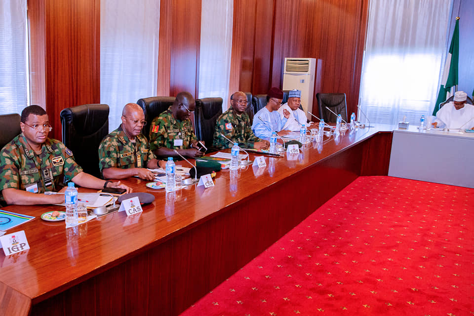 52410534 2081311581961171 2087500727449550848 n - Photos from Buhari's meeting with governors, service chiefs