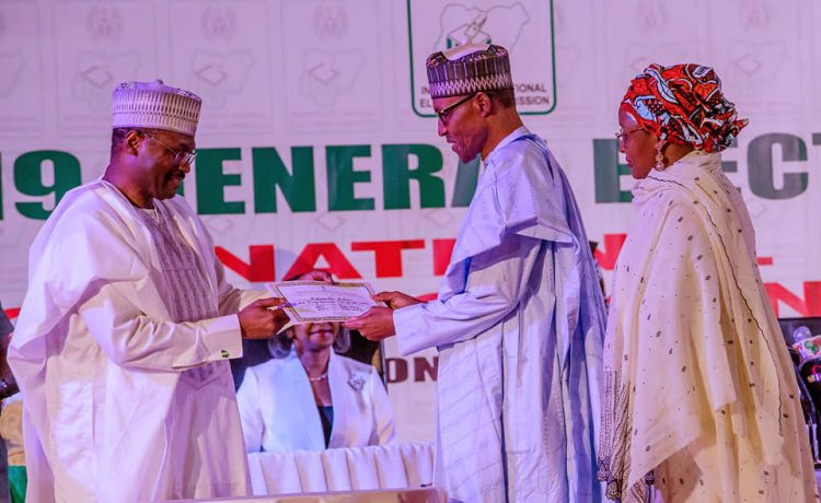 Buhari's Speech at the Presentation of Certificate of returns by INEC [Read]