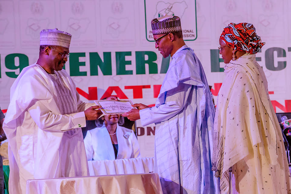 52922945 2094112720681057 1181823426168356864 n - Buhari's Speech at the Presentation of Certificate of returns by INEC [Read]