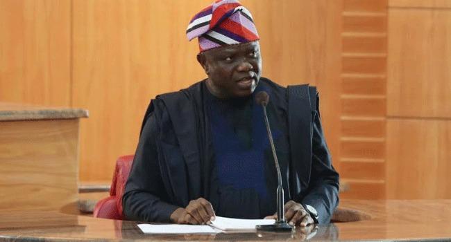 Ambode presents 2019 budget Okay NG 1 - Ambode presents 2019 budget to Lagos Assembly [In Photos]