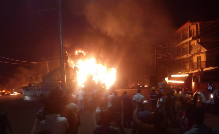 Petrol tanker explodes in Anambra, many feared dead - OkayNG News
