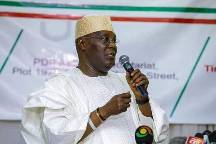 Atiku PDP NEC Okay ng - Atiku refutes reports claiming he paid $30,000 to US lobbyist to displace Buhari as president